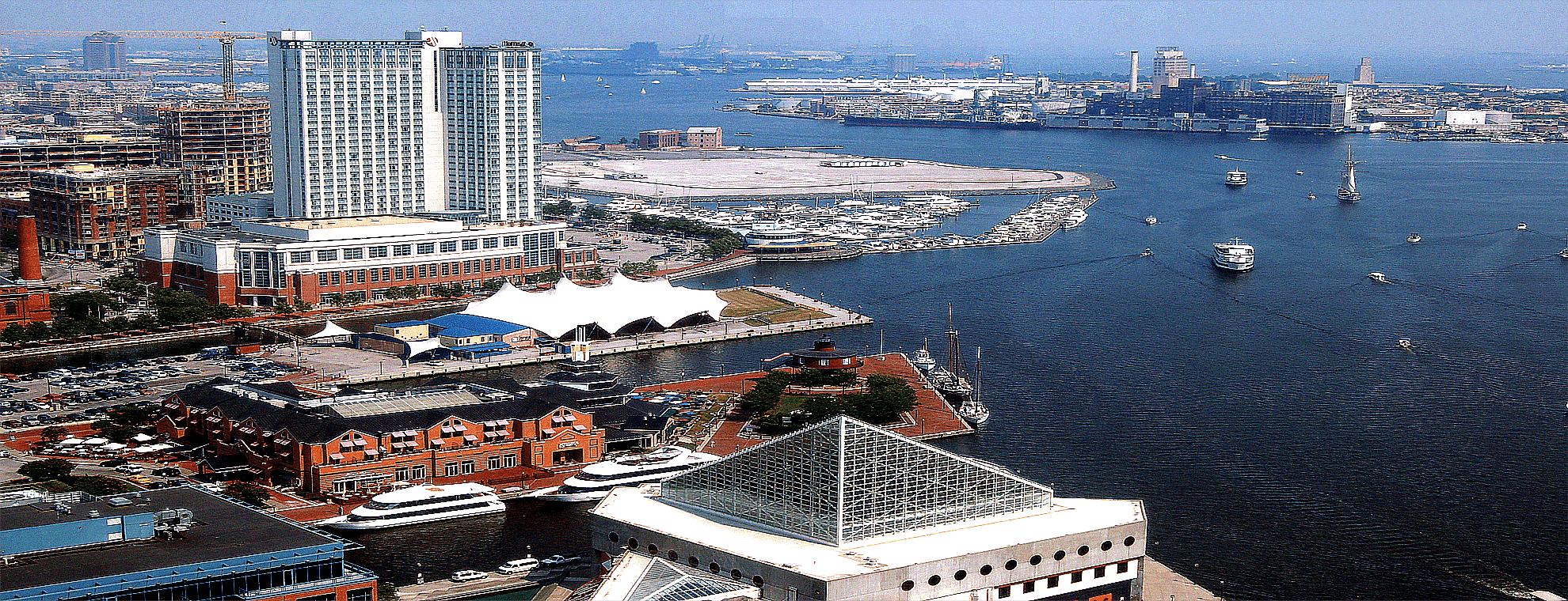 Inner Harbor Baltimore,Maryland